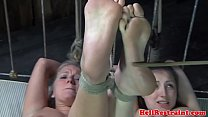 bdsm slave duo punished in maledoms dungeon • Pimp My Wife thumbnail