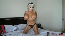 Home movie what real MILFs do for their MEN  #oilfetish #masturbation #stripper Sally D'angelo
