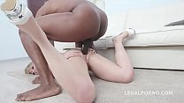 2on1 BBC with Dee Williams Intense Balls Deep Action, DAP, Cum Diversity GIO1068 thumbnail