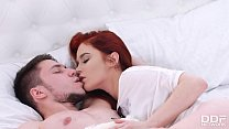 Ravenous Redhead Heather Dew indulges in cock s... Thumbnail