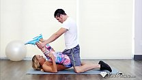 Busty Milf Tegan James fucked during her yoga session-www.sexxycamz.com thumbnail