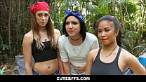 Hot Teen Camping Girls Fuck Lost Camping Guy