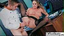 (Alexis Adams) Gorgeous Girl With Big Round Tits Nailed In Office movie-01
