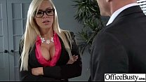 Big Tits Girl Love Exciting Hard Sex In Office movie-27