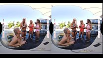Naughty America Three hotties bang their friend's son in VR's Thumb
