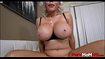 Blonde Big Tits MILF Step Mom Casca Akashova Fa