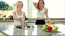 Flawless girls Alex and Sammie in damn lesbo se... thumb