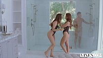 VIXEN Tori Black and Caprice In The Hottest Threesome You'll Ever See! thumbnail