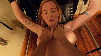 Blonde Milf Gets Spanked and Fucked