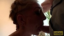 Inked UK skank railed rough in ass by maledom Image