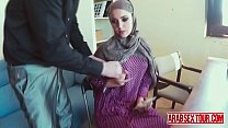 Ultimate arab bitch handles brutal dicking like a good whore-2 preview image