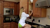 Natalia Starr Rough Fucked In Kitchen