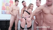 Fucking Wet Beer Festival with Krystal Kaytlin 4on1 Balls Deep Anal, DAP, GAPES, Pee d. and Swallow GIO1395