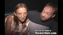 Cum Soaked From Porn Theater Circle Jerk