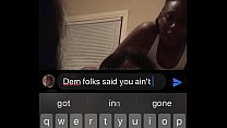 Ebony Lesbian Couple Has Sex In Front Of Their Bestfriend On Facebook Live