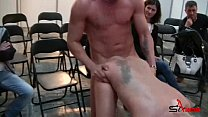 Fucking blond girl in public room - Anita Ribei... thumb