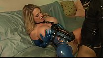 Big Tit MILF Fucks Sex Slave In Latex - ANGELA ATTISON