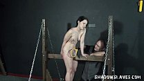 Young slave girls electro bdsm and teen punishm...