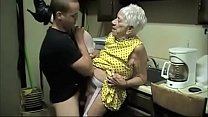 GRANNY IN KITCHEN pornhub video
