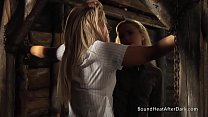 neiva mara nude - Slaves Homecoming: Slave Training For Blonde Girl In Chains thumbnail