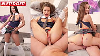 LETSDOEIT - #Lana Rhoades #Rick Angel - Sexy Ass College Babe Fucks With Principal At His Place
