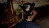 StepSis Gives Brother A Blowjob! Filled Her Mou