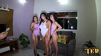 Girls getting ready to record - Lady Milf - Angel Takemura - Polly Petrova