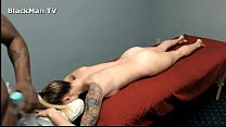8071 Black Man Massages white Girl - Real Sessions- preview