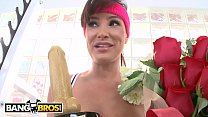 BANGBROS - Lisa Ann Receives Hottest MILF Award And Fucks Chris Strokes