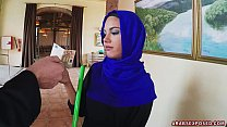Arab Cleaning Lady Slowy Sucks Cock Thumbnail