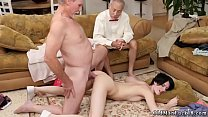 Very old man and playmate's crony's daughter Frannkie heads down the