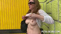 Mom are you doing porn? A mature fucking for money