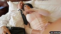 Busty tgirl Chanel Santini deepthroats her clients big cock