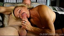 Super sexy old spunker loves it when you cum in her mouth image
