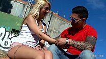 Hot Stranger Girl Was Needed To Convince Her To Fuck In Public