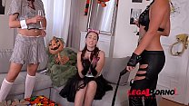Creamy foursome with horny Christen Courtney & Cherry Kiss & Leyla Bentho GP282 Thumbnail