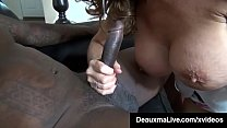 Horny Cougar Deauxma Fucks Big Black Cock Debt Collector!