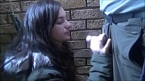 Amateurs outdoor blowjob and freezing flasher G...