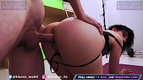Step Brother Tied Up Sister & Fucked Cum On Pussy Like A Porn Casting / Bondage Sex / Kisscat