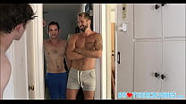 Twink Stepbrother Threesome With Jock Stepbrother And His Best Friend