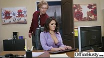 (Valentina Nappi) Girl With Round Big Tits In Hard Style Sex In Office clip-29 video