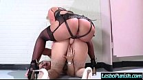 Hot And Mean Lesbos In Punishment Sex Tape mov-01
