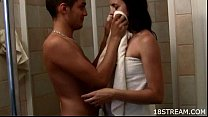 Teen sex in shower cabin preview image