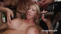 6690 Happy B-day Lara De Santis! anal madness party with squirt cocktail, balls deep anal, DAP, TP & anal fisting preview