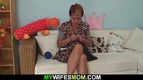 My girlfriends mom seduces me into taboo sex Thumbnail