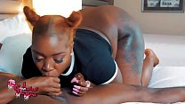 WHOA!!! WTF!!! Where did his dick go?? BBW SWALLOWS BBC thumbnail