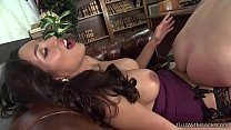 Ts secretary in stockings banging boss