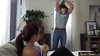 Redhead milf  roughly fucked in taboo action