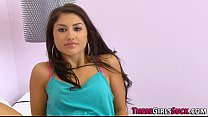 Face spunked latina teen Thumbnail
