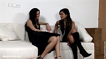 Naughty Afternoon lesbian threesome with Jackie Karie and Michelle from Sapphic's Thumb